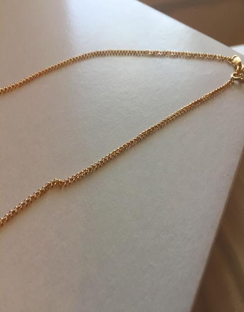 14k Gold Filled 1.5 mm Rolo Link Necklace