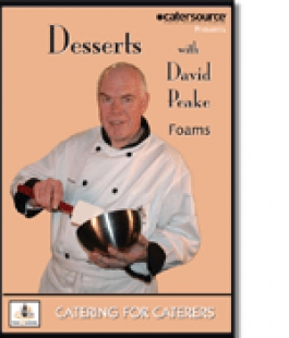 Desserts with David Peake, FOAMS
