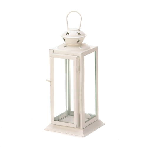 Starlight White Candle Lantern