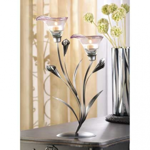 10 Calla Lily Candleholders