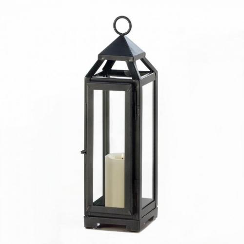 Tall Slate Lantern