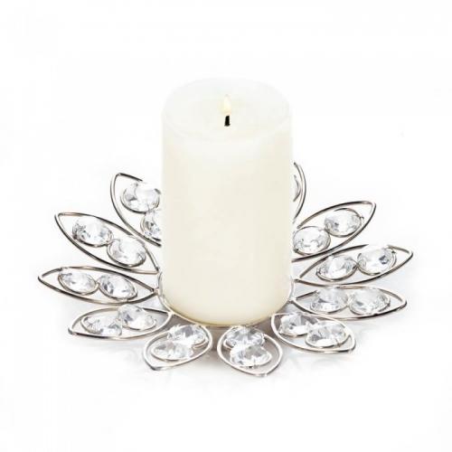 Crystal Flower Candleholder
