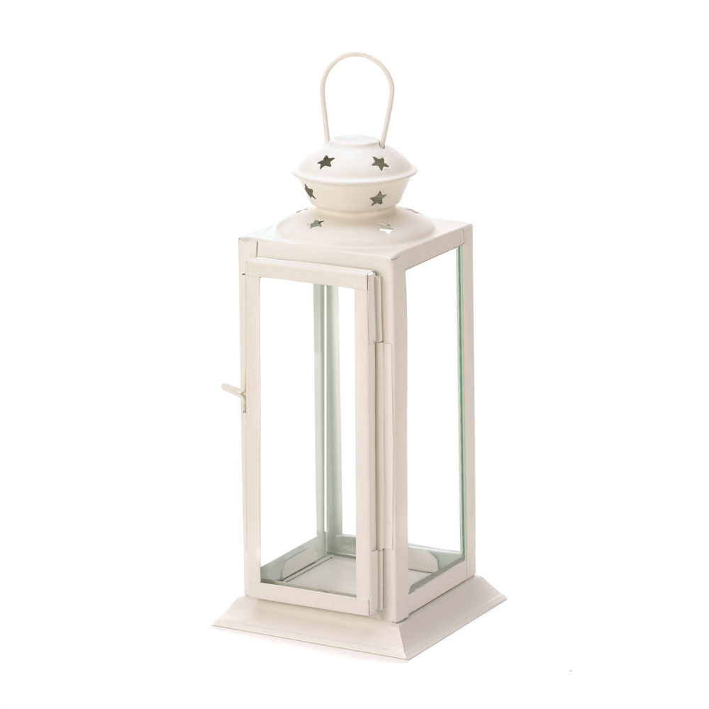 starlig view details starlight white candle lantern
