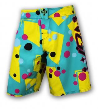 Lucky Gi Polka-Dot-Camo Board Shorts