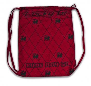 Red Argyle Lucky Gi Bag