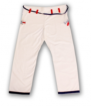 Lucky Gi Dog Fighter Gi White Pants