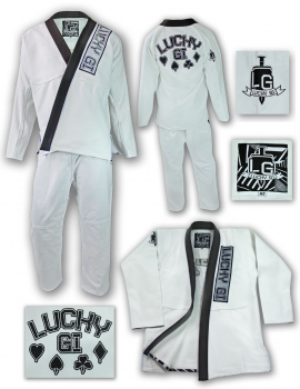 Lucky Gi Domino Gi White